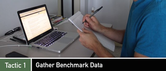 Negotiation Tactic 1: Gather Benchmark Data