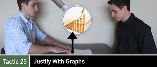 Negotiation Tactic 25: Justify with Graphs