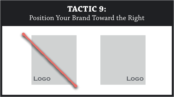 e1bb6e625 Other research has found that information on the right generates higher  aesthetic scores (Grobelny & Michalski, 2005). So people should perceive  your brand ...