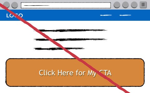 Huge CTA Button