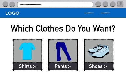 Do You Want Shirts, Pants, or Shoes?