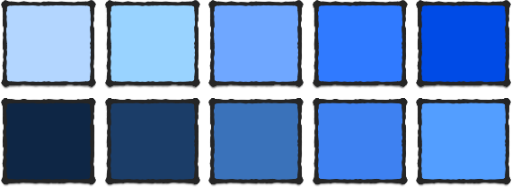 Blue Color Associations