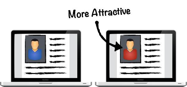 Red Color in Online Dating