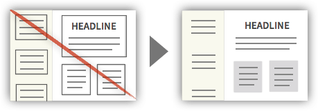 UX Tactic 12 - Remove Unnecessary Borders From Design Elements