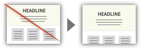 UX Tactic 14 - Extend Elements Through the Fold