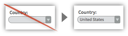 UX Tactic 18 - Create Smart Defaults Based on Frequently Chosen Input