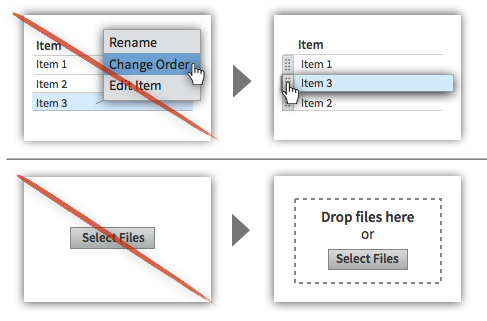 UX Tactic 19 - Let Users Drag and Drop Elements