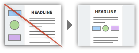 UX Tactic 3 - Use a One Column Layout