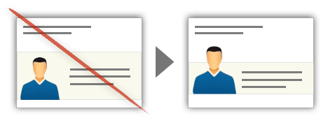 UX Tactic 4 - Overlap a Design Element to Emphasize Continuity