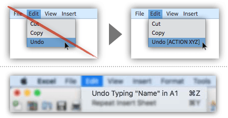 UX Tactic 40 - Use Smart Menu Items to Clarify Actions