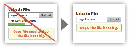 UX Tactic 59 - Prevent Users From Uploading Files That Are Incompatible