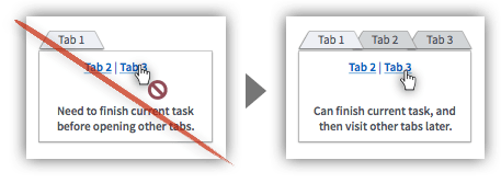 UX Tactic 91 - Let Users Open Pages in New Tabs