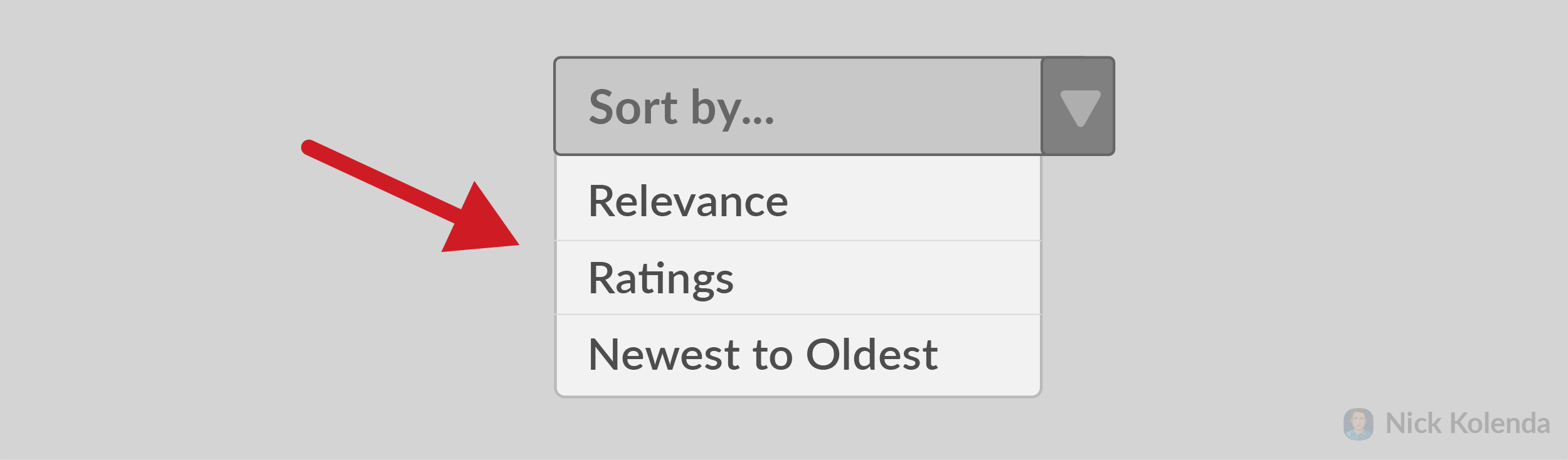 Sort by: Relevance, Ratings, Oldest to Newest