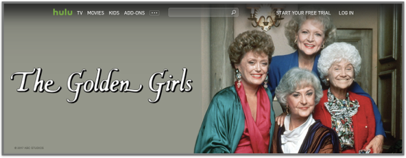 Banner of The Golden Girls