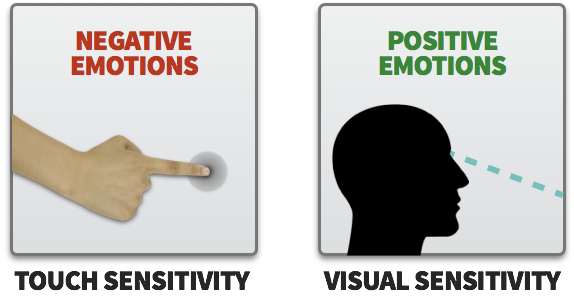 Touching vs. Visualizing