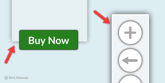 Buttons on Top of Modal Boxes